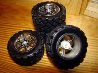 HPI Mini Recon Replacement Tires and Wheels