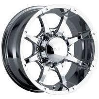 18x8 5 MKW Style M26 Rims Chrome 8 Lug Truck Wheels