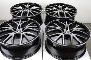 Rims Black BMW M5 M6 528 M3 535 540 550 525 530 7 Series Effect Wheels
