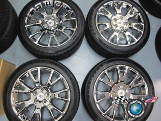 2012 Cadillac CTS Factory 19 Chrome Wheels Tires OEM Rims 9597711 4671
