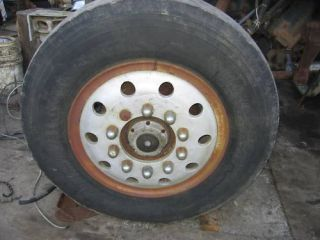 Old School 22 Tube Type Aluminum Wheel Alcoa Rim