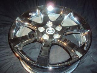 Single Nissan Maxima Chrome Wheel Factory Stock Rim OE 62475