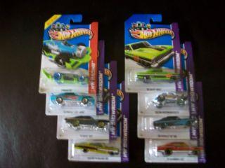 Hot Wheels Kmart Days Lot of 7 Plus Treasure Hunt