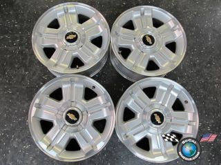 12 Chevy Tahoe Factory 18 Wheels OEM Rims 1500 Suburban Silverado 5300