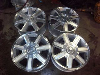 17 Cadillac Escalade Factory Wheels Rims 5303 08 12 Tahoe Yukon