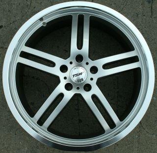TSW Indy 500 20 Silver Rims Wheels Audi Q5 20 x 8 5 5H 40