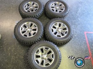 Jeep Wrangler Rubicon Factory 17 Wheels Tires OEM Rims Sahara BFG Mud