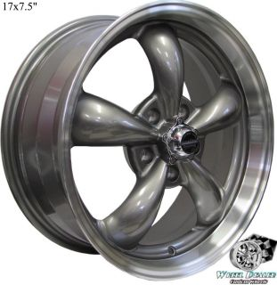 17x7 5 GRAY REV CLASSIC 100 WHEELS RIMS 5x114 3 FOR TOYOTA AVALON 1995