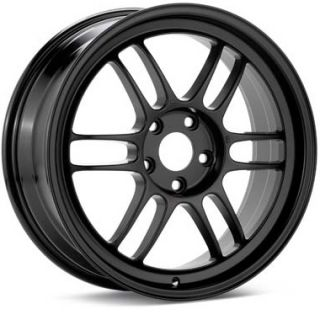 18 Enkei RPF1 Black Rims Wheels 350Z 370Z G35 Mustang