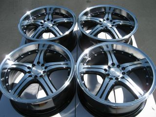 Polished Lip Wheels Accord S2000 Prelude Civic G35 Eclipse Rims