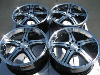 Polished Lip Wheels Accord S2000 Prelude Civic G35 Eclipse Rims