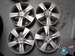 07 12 Hyundai Elantra Factory 16 Wheels Rims 70806 52910 3x250
