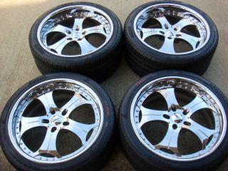 20 GFG Lexus LS 460 LS460 LS460L LS600H LS600LH Chrome Wheels Tires