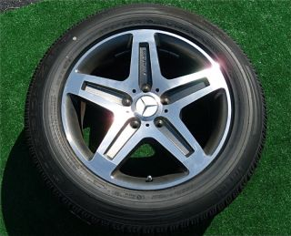 Genuine Authentic OEM AMG Mercedes Benz G55 19 Wheels Tires G500 G550