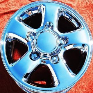 NEW 16 TOYOTA LAND CRUISER OEM CHROME FACTORY WHEELS RIMS LX470 69380