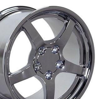 17 Rims Fit Camaro Corvette C5 Deep Dish Wheels Set
