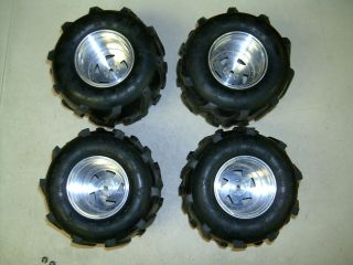 JPS Sees Clod Clodbuster USA 1 Aluminum Wheels Rims Tamiya Imex