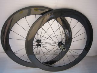 Bicycle Carbon Wheels 700c Carbon Fiber Wheels 3K Model WS60C