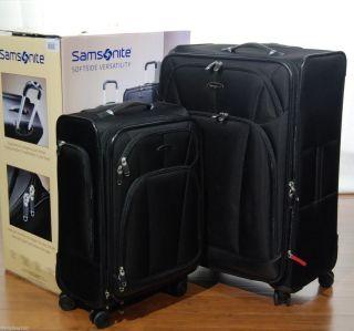 Samsonite Dual 360 Expandable Spinner Set Travel Luggage Suitcase 21