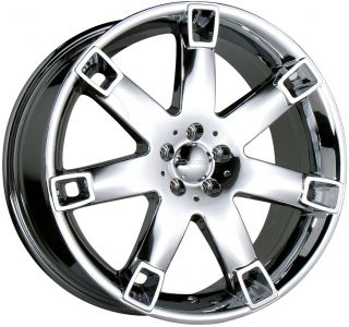 19 Chrome Decorsa Fusion Wheels Rims Toyota Honda Nissan 5x114 3