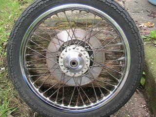 1979 Kawasaki KZ650B KZ 650B Front Wheel Brake Rotor Spacer Very Good
