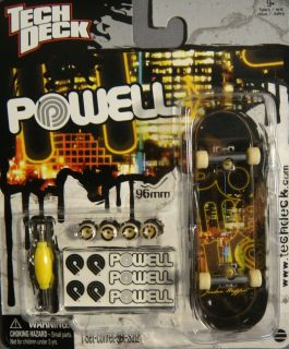 Tech Deck Powell Peralta Jordan Hoffart Fingerboard New