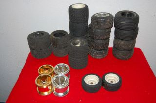 RC Car Tires and Wheels Lot of 24 Pcs HPI and Traxxas