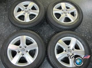 09 12 VW Routan Factory 17 Wheels Tires Rims 69884 1FY09TRMAC