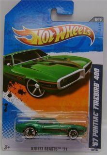 Pontiac Firebird 400 Green Street Beasts 11 Hot Wheels 1 64