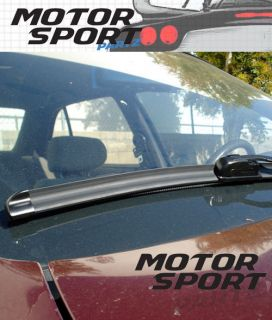 Pair Bracketless Windscreen Wiper Blades 525mm 475mm