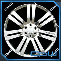 Escalade High Polish 24 inch Wheels GMC Chevrolet Rims