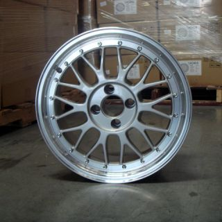 16x7 16x9 5x100 4x100 Wheel Rims LM Style VW Audi BMW