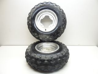 2004 Yamaha YFZ450 YFZ 450 Front Rims and Tires 21X7X10 Banshee
