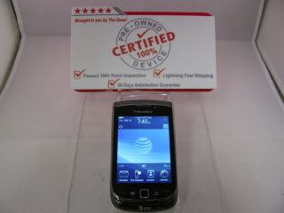 BLACK RIM BLACKBERRY TORCH 9800 UNLOCKED GSM ATT Smartphone GOOD