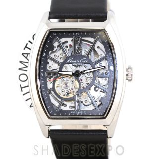 New Kenneth Cole Watches KC1750 Black Silver