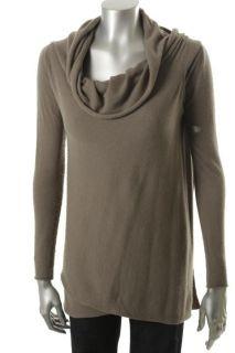 Laurie B Green Long Sleeve Wrap Cardigan Sweater M BHFO
