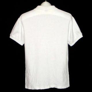 Ralph Lauren Polo Bear 92 White Golf Shirt Mens S