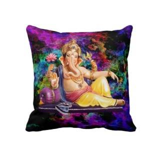 Ganesh Relaxing Pillow