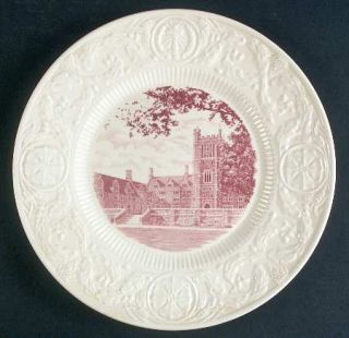 Wedgwood Duke University Pink Dinner Plate, Fine China Dinnerware   Pink Univers