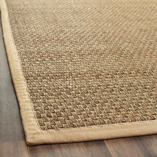 Hand Woven Sisal Natural Beige Seagrass Rug 3 X 5
