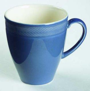 Wedgwood Weekday Weekend Blue Mug, Fine China Dinnerware   QueenS Ware, Blue, V