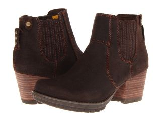 Caterpillar Casual Allison Womens Pull on Boots (Brown)