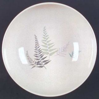 Franciscan Fern Dell 11 Large Salad Serving Bowl, Fine China Dinnerware   Green