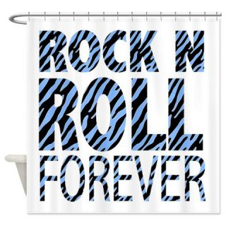 ROCK N ROLL Shower Curtain Use Code FREECART At Checkout