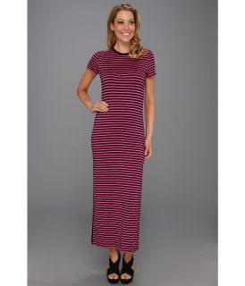 MICHAEL Michael Kors Jardin Strape Sleeve Long Dress Womens Dress (Pink)