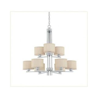 Dolan Designs Tecido 9 Light Chandelier 2942 09 / 2942 34 Finish: Satin Nickel