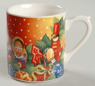 Gien Assiette De Noel Collector Mug, Fine China Dinnerware   Annual Christmas Pl