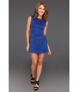 Gabriella Rocha Keren Techno Scuba Dress Womens Dress (Navy)