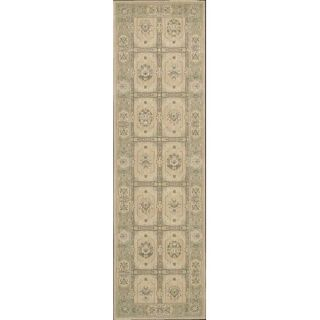Nourison Persian Empire Sand Checked Rug PE23 SAN