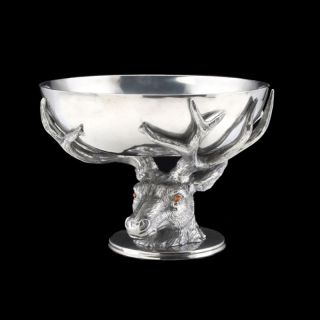 Arthur Court Antler Centerpiece Bowl Multicolor   103326